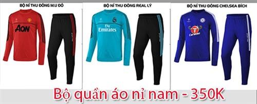 Bộ quần áo nỉ nam mùa đông đẹp giá rẻ tại Hà Nội