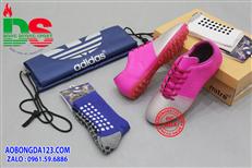 Giày bóng đá Diablo Speed hồng mũi bạc