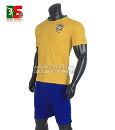 Áo Bóng Đá Đội Tuyển Brazil Sân Nhà World Cup 2018
