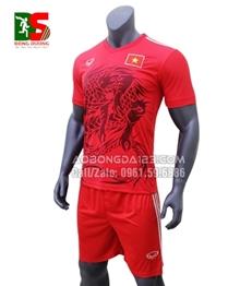 Áo Bóng Đá Đội Tuyển Việt Nam Rồng Đỏ 2018