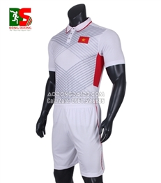 Áo Bóng Đá Đội Tuyển Việt Nam Sân Khách 2017