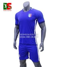Áo Bóng Đá Italia màu Xanh Sân Nhà 2017
