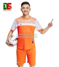 Áo bóng đá không logo Inspire 2018 màu cam