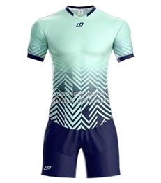 Áo bóng đá không logo Waldo 2018 màu xanh ngọc