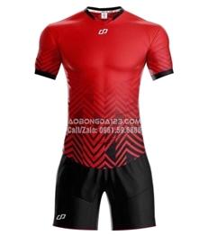 Áo bóng đá không logo Waldo 2018 màu đỏ