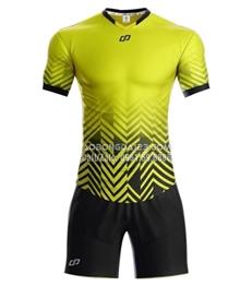Áo bóng đá không logo Waldo 2018 màu vàng