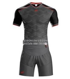 Áo bóng đá không logo Fancy 2018 màu xám