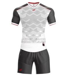 Áo bóng đá không logo Fancy 2018 màu trắng