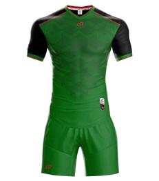 Áo bóng đá không logo Fancy 2018 màu xanh lá
