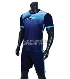 Áo bóng đá không logo T90 2018 màu xanh than