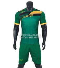 Áo bóng đá không logo T90 2018 màu xanh lá