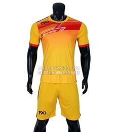 Áo bóng đá không logo T90 2018 màu vàng