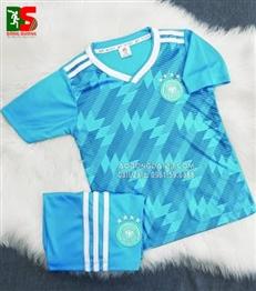 Áo bóng đá trẻ em Đức xanh sân khách 2018