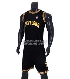 Áo Bóng Rổ Cleveland màu đen 2018-2019