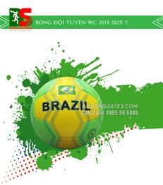 Bóng đội tuyển Brazil Wc 2018 size 5