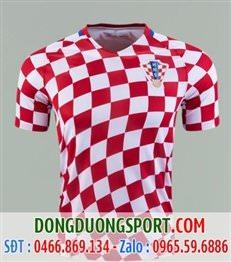 Áo Bóng Đá Croatia Sân Nhà 2017
