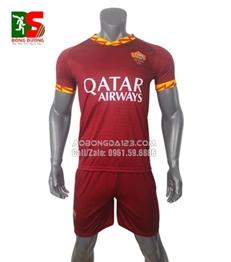 Áo bóng đá câu lạc As Roma sân nhà 2019-2020