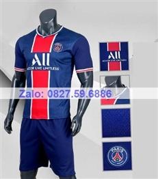 Bộ quần áo bóng đá CP PARIS xanh dương