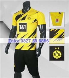 Bộ quần áo bóng đá CP DORTMUND vàng 2020-2021