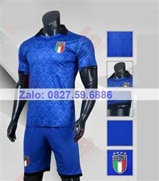 Bộ quần áo bóng đá CP Ý xanh bích 2020 -2021
