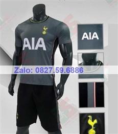 Bộ quần áo bóng đá CP Tottenham xám rêu 2020-2021