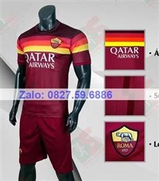 Bộ quần áo bóng đá CP AS Roma đỏ đô 2020-2021