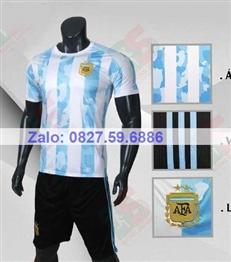 Bộ quần áo bóng đá CP Argentina sọc 2020-2021