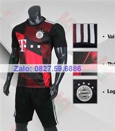 Bộ quần áo bóng đá CP Bayern đen 2020-2021