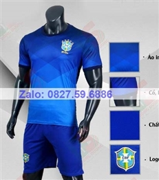 Bộ quần áo bóng đá CP Brazil xanh bích 2020-201