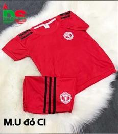 Áo bóng đá trẻ em MU trainning C1 đỏ