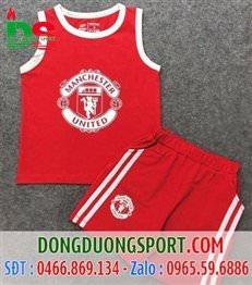 Bộ Ba Lỗ Trẻ Em Manchester United Đỏ