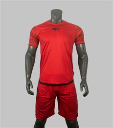 Áo Không Logo T90 Màu Đỏ