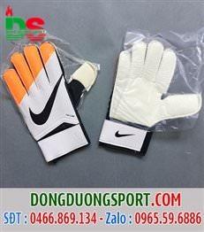 Găng tay thủ môn trắng cam