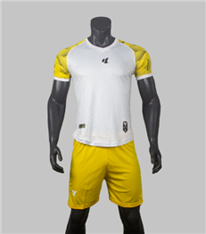 Áo Không Logo Lidas Màu Trắng Vàng