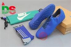 Giày bóng đá Diablo Speed màu xanh dương