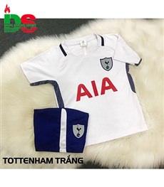 Áo bóng đá trẻ em Tottenham trắng