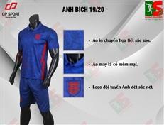 Bộ quần áo bóng đá CP Anh xanh bích