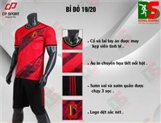 Bộ quần áo bóng đá CP Bỉ đỏ