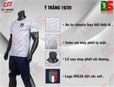 Bộ quần áo bóng đá CP Ý trắng
