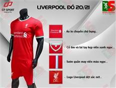 Bộ quần áo bóng đá CP Liverpool đỏ