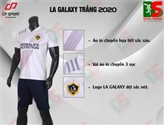Bộ quần áo bóng đá CP LA Galaxy trắng