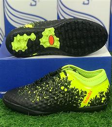 Giày đá bóng sân cỏ nhân tạo TASOKI TK26 Đen Xanh