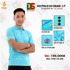 Áo Polo UV Egan màu xanh ngọc