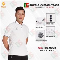 Áo Polo UV Egan màu trắng