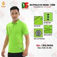 Áo Polo UV Egan màu xanh lá