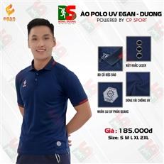 Áo Polo UV Egan màu xanh biển