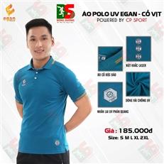 Áo Polo UV Egan màu xanh dương