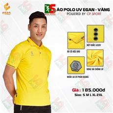 Áo Polo UV Egan màu vàng