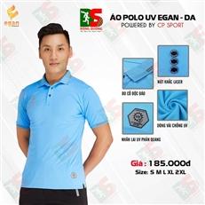 Áo Polo UV Egan màu xanh da trời